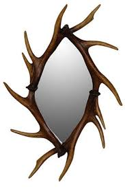 antler mirror wall mirrors bathroom u0026 dressing table mirrors