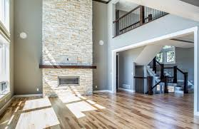 vaulted ceiling means stone to ceiling fireplace right how