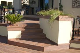small deck design with stairs for backyard decor idea grabbing