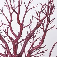 manzanita tree centerpieces balsacircle 30 manzanita tree with garlands for wedding diy