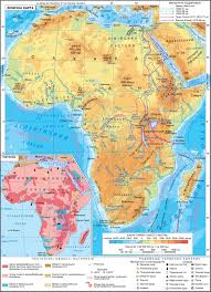 Africa Geography Map by Africa Physical Map Tectonics The Geography Of Continents And
