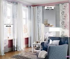 Ikea Curtains Panels Furniture Ikea Room Divider Curtain Panels Ideas Regarding