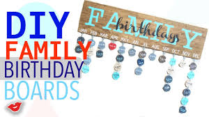 birthday board diy family birthday board tay from millennial