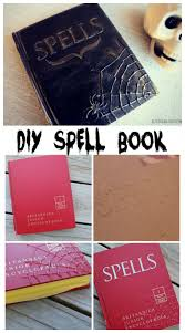 diy spell book halloween spell book halloween spells and glue