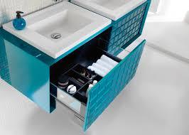 meuble de salle de bain original les salles de bains bleues d ambiance bain inspiration bain