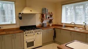 u shape kitchen design and decoration using light gray wood
