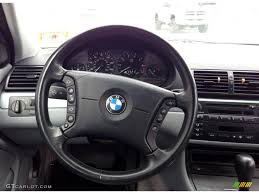 bmw 325i steering wheel 2001 bmw 3 series 325i sedan grey steering wheel photo 78604519