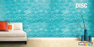 Make Textured Paint - asian paints texture interiors design