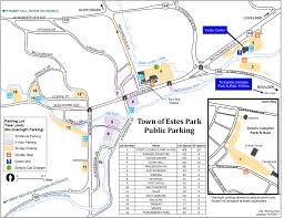 Map Of Colorado Cities And Towns by Maps Town Of Estes Park