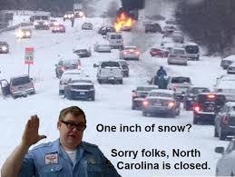 North Carolina Meme - north carolina is getting snow again meme guy