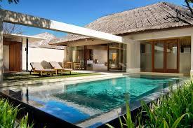 wonderful tropical backyard design with patio bar chair for