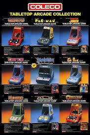 Table Top Arcade Games Coleco Tabletop Arcade Games Video Games Amino
