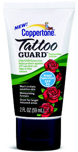 tattoo fading lotion coppertone tackles ink with tattoo guard to prevent fading blurring
