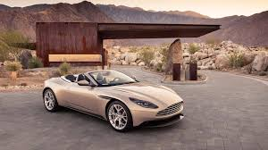 chrome aston martin aston martin db11 volante arrives in time for open air cruising