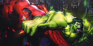 red hulk green hulk grey hulk blue hulk