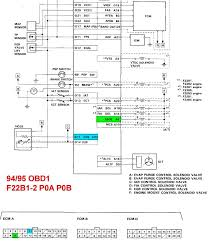 obd1 wiring diagram honda wiring diagrams instruction
