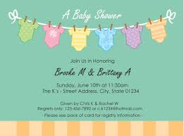 baby shower invitation card dancemomsinfo com
