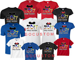 new 2017 2018 disney family vacation t shirts