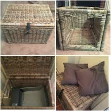 litter box side table side table side table litter box hideaway i found this neat idea