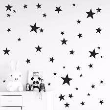 popular star wall sticker buy cheap star wall sticker lots from 150pcs mixed size easy apply removable pattern stars wall stickers kids room environmental friendly