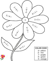 coloring pages for kindergarten best 25 math coloring worksheets ideas on pinterest addition