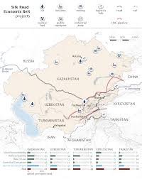 Silk Road Map The Silk Road Economic Belt How Does It Interact With Eurasian