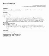 Salon Manager Resume Best Inventory Manager Resume Example Livecareer