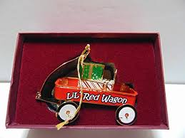 baldwin lil wagon brass ornament with 24k gold overlay