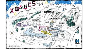 Map Of Aspen Colorado by Guest Services Information For X Games Aspen 2016
