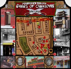Map Of Chinatown San Francisco by Tong Wars Gangs Of Chinatown Map Infamous New York
