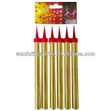 party candles fireworks 60s fancy birthday cake candles sparklers fireworks