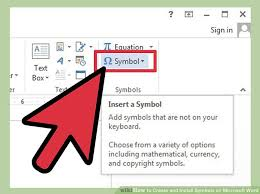 how to create and install symbols on microsoft word 13 steps