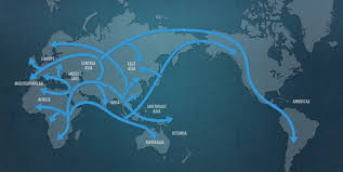 map of america 20000 years ago map of human migration
