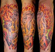fire and flame tattoos luxury interior design
