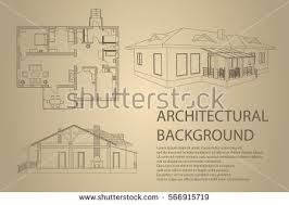 Floor Plan And Perspective Perspective 3d Floor Plan Cross Section Stock Vector 562646326