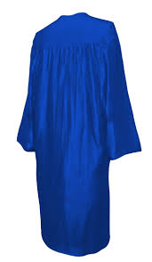 blue cap and gown shiny royal blue cap gown tassel diploma cover set rs4251465611508