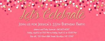 free birthday invitations for evite