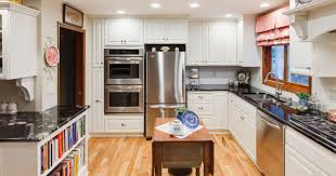 styling strategies for making a white kitchen pop