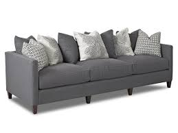 Scatter Back Sofa Klaussner Jordan Large 3 Cushion Tuxedo Arm Sofa With Scatterback