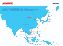 Dalian China Map Noa Vietnam Co Ltd