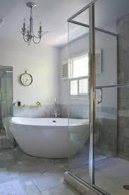 Corner Tub Bathroom Ideas Colors Amazing Bathroom Redo Love The Curtains Colors Chandelier And