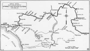Phoenix Road Map by New Route For November Phoenix Race Touring Topics October 1914