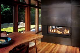 fireplace xtrordinair 4415 see thru gas fireplace h2oasis