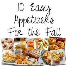Easy Appetizers 10 Easy Appetizers For The Fall Sunny Slide Up