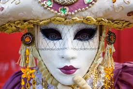 venetian carnival mask enjoy a photo adventure vacation in amazing venice during carnival
