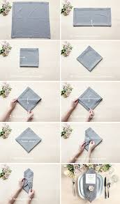 how to make table napkins table setting tips 3 menu napkin folds party inspiration