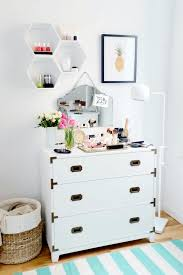 dressers for makeup 2 ways to make the most of styling your dresser the everygirl