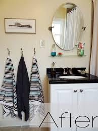 Glass Shelves Bathroom by Diy A Budget Friendly And Quick Bathroom Makeover Revamp