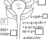 coloring pages printable gumball math addition subtraction