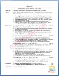Sample Resume For Purchasing Agent Mla Thesis Statement Incinerator Operator Resume Help With Esl